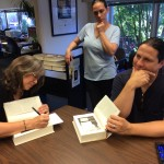 Robin Hobb, Assistant Jen, and Peter Orullian - No, this was not posed.