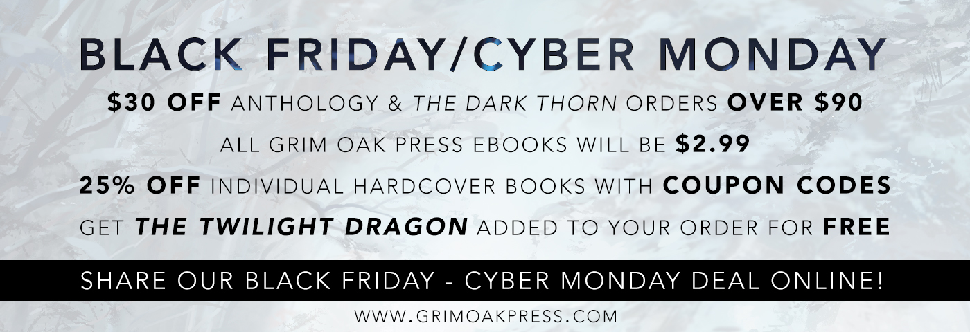 Grim oak press black fridaycyber monday deals the signed page grim oak press black fridaycyber monday deals fandeluxe Gallery