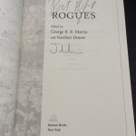 Double-signed by Patrick Rothfuss and Joe Abercrombie